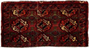 Rare Arabatchi Chuval rug early 19th century. Size 138 x 66 cm. David Sorgato at the Hali Fair
