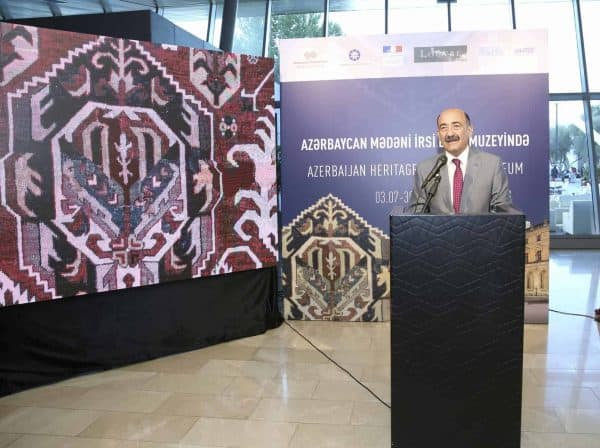 Abulfas Garayev, Minister of Culture of the Republic of Azerbaijan