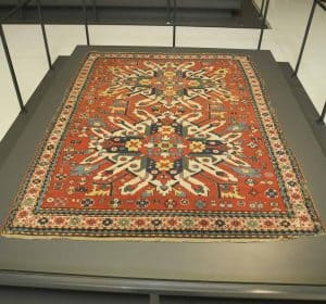 An Azerbaijani Chelaberd rug from the Louvre Collection