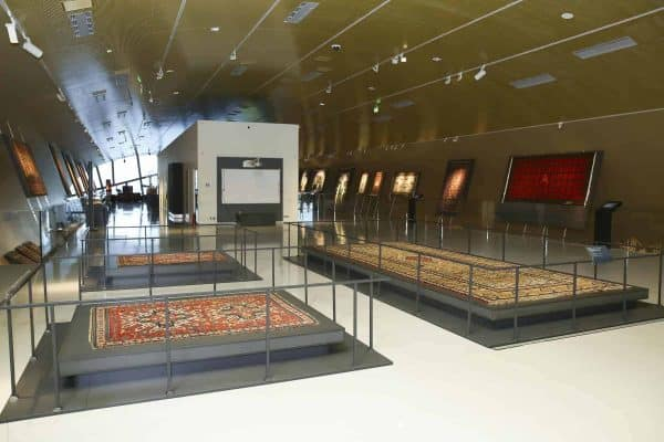 The exhibition of Azerbaijani carpets from the Louvre Museum