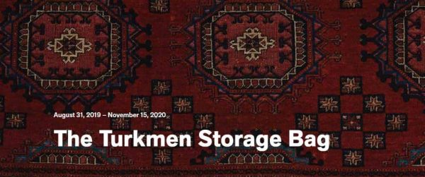 Turkmen storage bag 600x251 - Turkmen storage bags at the de Young Museum