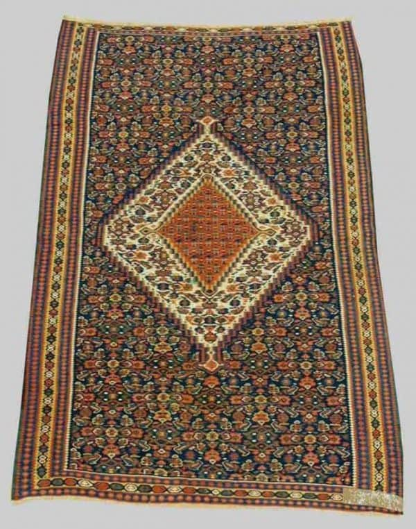 862 Senneh kilim 600x762 - Old and antique rugs at Dr. Eder