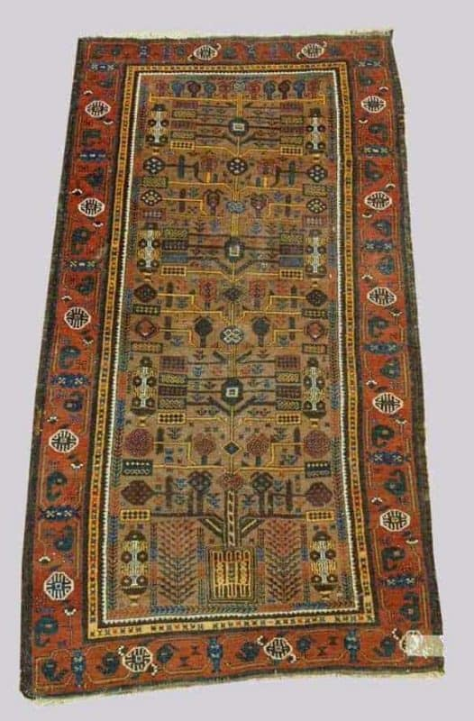 881 Baluch 526x800 - Old and antique rugs at Dr. Eder