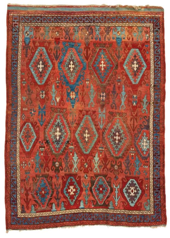 Lot 13 Anatolian Sarkisla rug 571x800 - Antique rugs - Masterpieces of an Austrian Private Collection