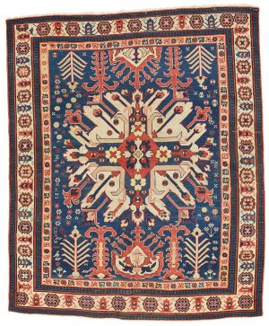 South Caucasian rug with Chelaberd medallion.