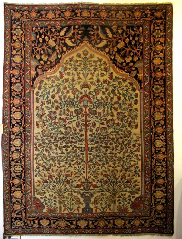 Fereghan Sarouk 'Tree of Life' Rug