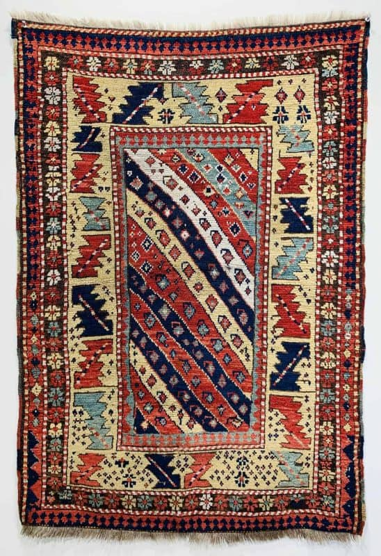 LARTA 2020 Andy Lloyd Gendje village rug 548x800 - Larta preview - antique rugs and textiles