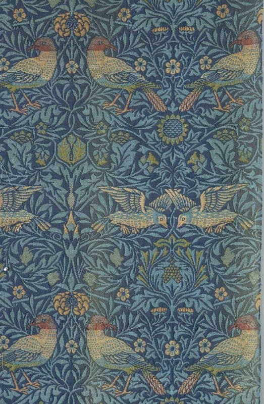 Bird doublecloth by William Morris