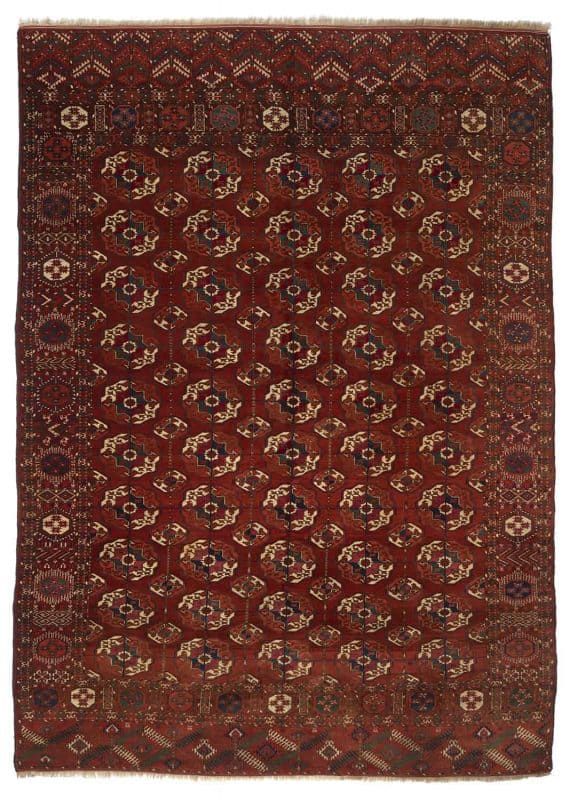 LARTA 2020 Brian MacDonald Tekke carpet 8177 569x800 - Larta preview - antique rugs and textiles