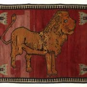 LARTA 2020 Carpet Restoration Studio Gabbeh Lion rug 8225 180x180 - Rug lexicon