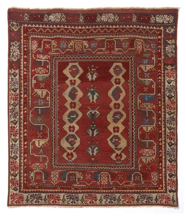 Melas rug, West Anatolia first quarter 19th century.