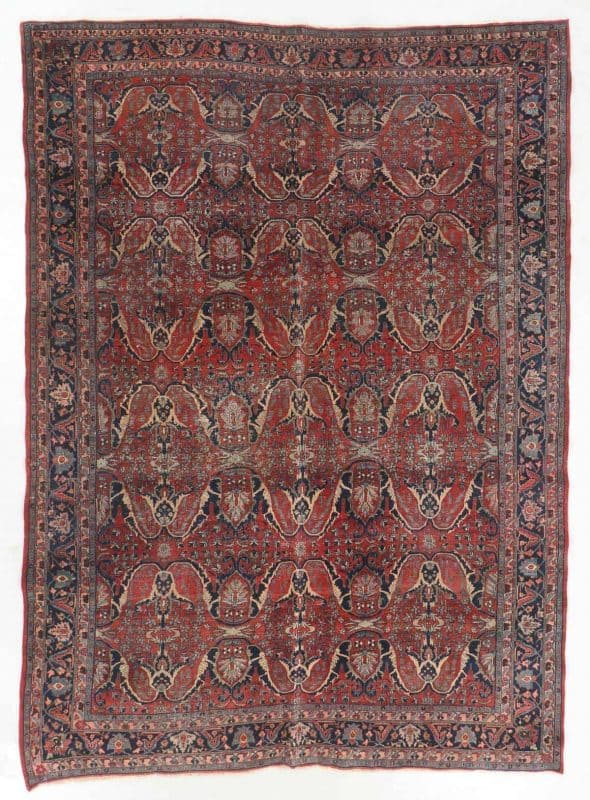Lot 0055 Antique Bidjar Rug, Persia