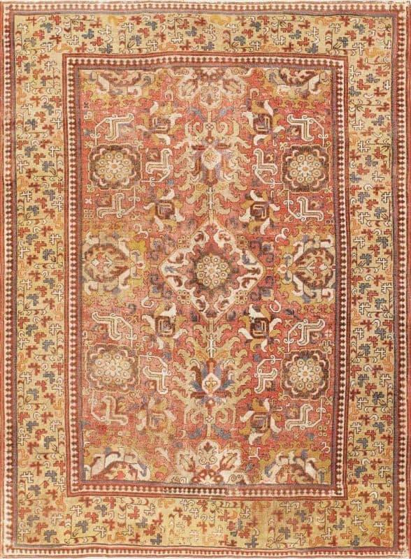 17th century caucasian kuba nazmiyal 588x800 - Antique & Vintage rugs from Various Estates and Nazmiyal Collection