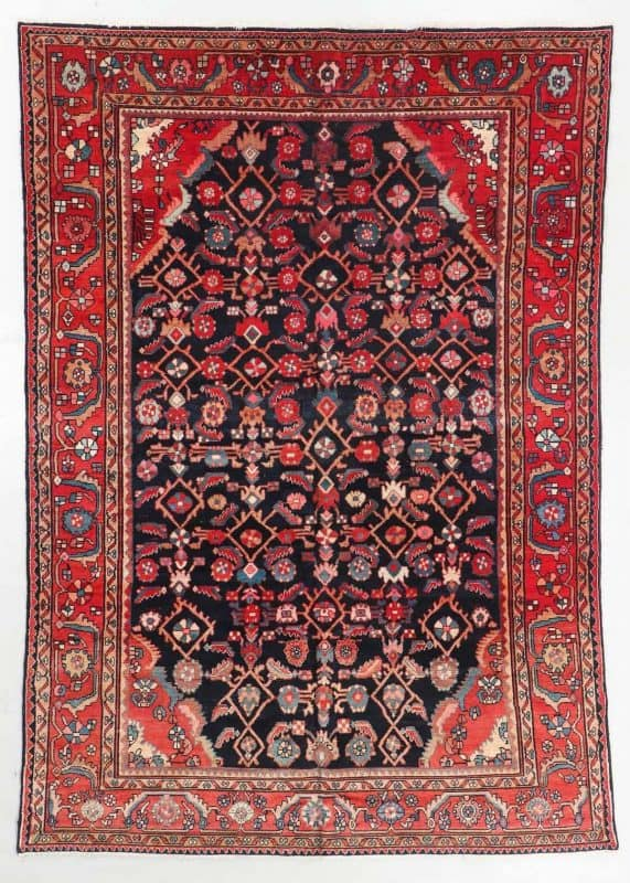 Semi Antique Malayer Rug Persia 571x800 - Oriental Rugs at Material Culture