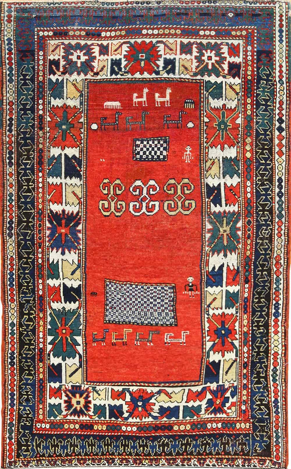 Antique Caucasian Kazak