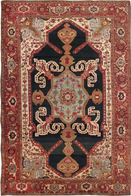 antique persian serapi nazmiyal 534x800 - Antique & Vintage rugs from Various Estates and Nazmiyal Collection