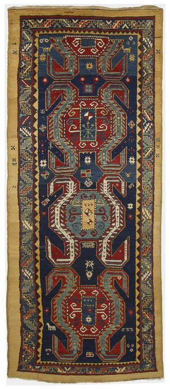 U S437 329 shahsavan savalan persia 1870 351x800 - Outstanding Norwegian rug collection on sale