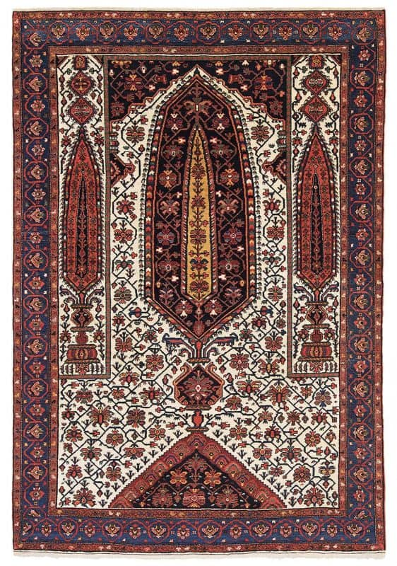 No. 376 Malayer, Hamadan Province. Probable age 1895. Size 205 x 140 cm.