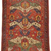 25 Large Dragon Soumak 180x180 - Rug lexicon