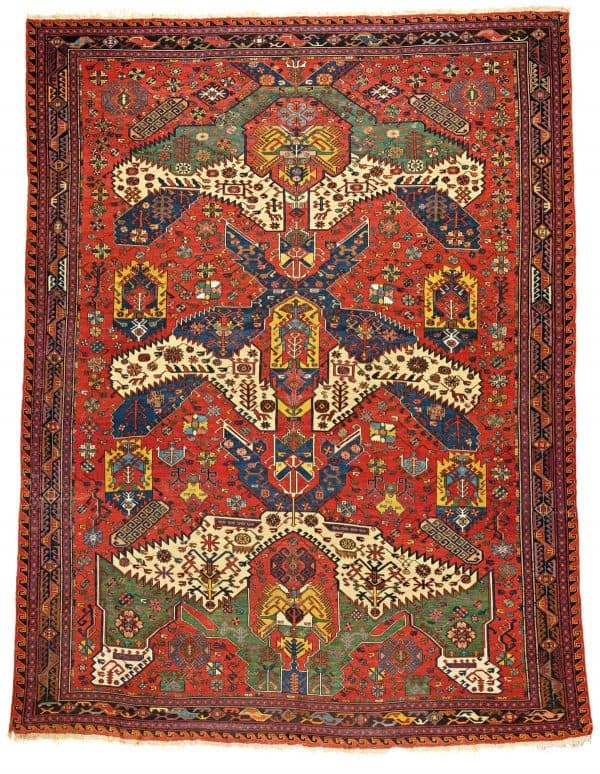 25 Large Dragon Soumak 600x774 - Fine Antique Oriental Rugs at Austria Auction Company