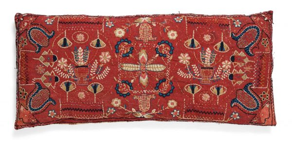 165 CARRIAGE CUSHION 1 600x294 - Bukowskis Important Spring Sale including carpets and textiles