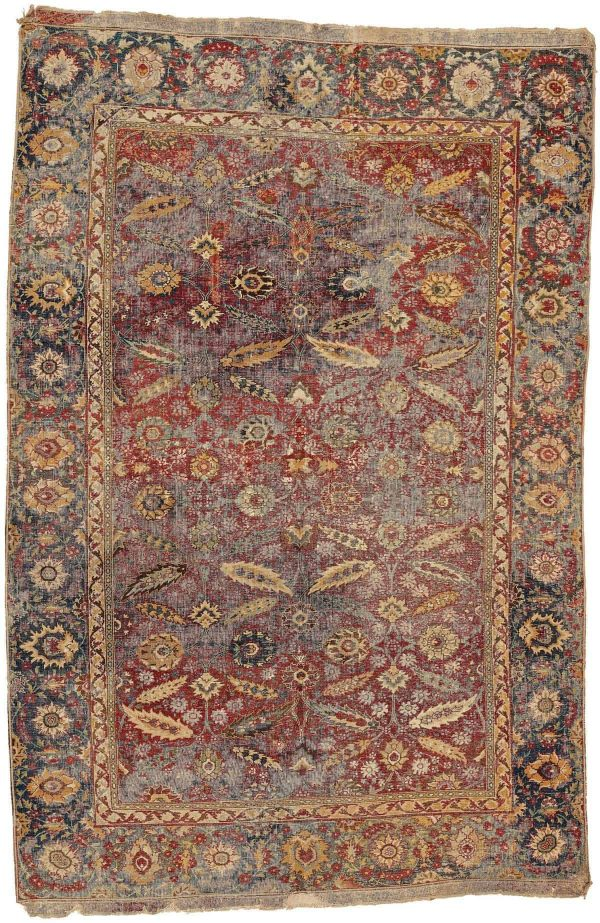 185 MUGHAL RUG 1 600x923 - Bukowskis Important Spring Sale including carpets and textiles