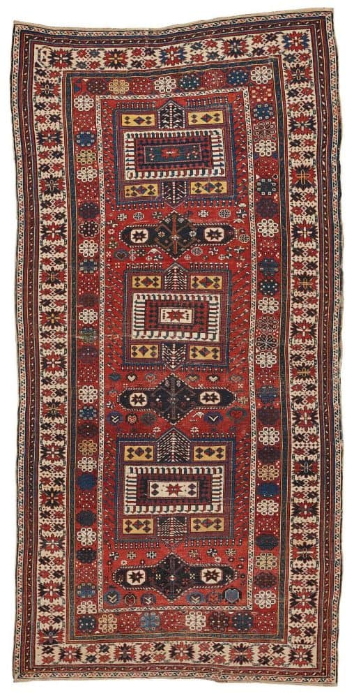 213 antique Shirvan 1 508x1000 - Bukowskis Important Spring Sale including carpets and textiles