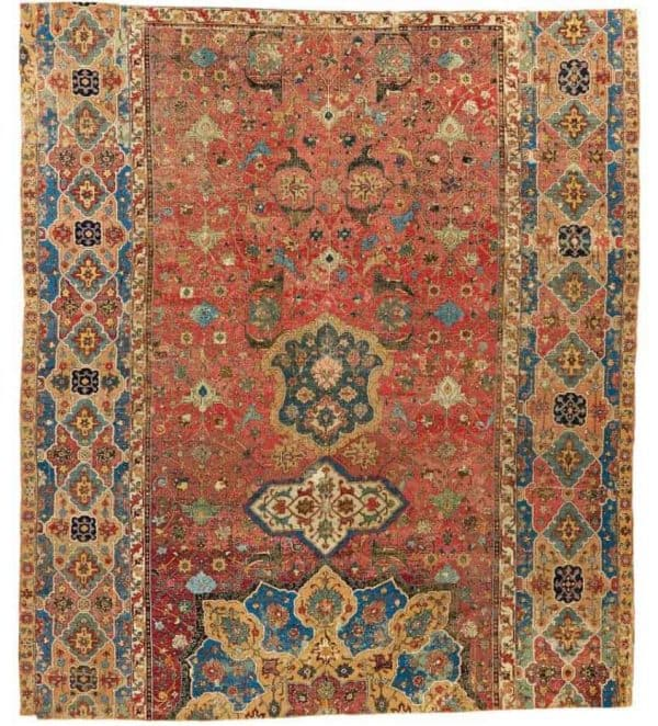 266 600x662 - Arts of the Islamic World & India including Fine Rugs & Carpets at Sothebys