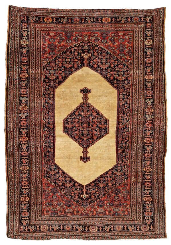 Lot 48. Senneh 199 x 141 cm Persia, late 19th century. Estimate € 2000 - 3000