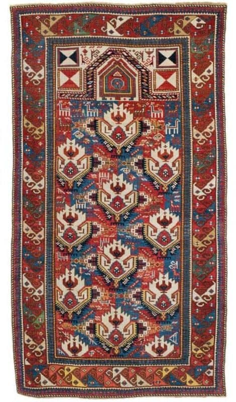 Lot 52 Shirvan prayer rug 470x800 - Shirvan rugs