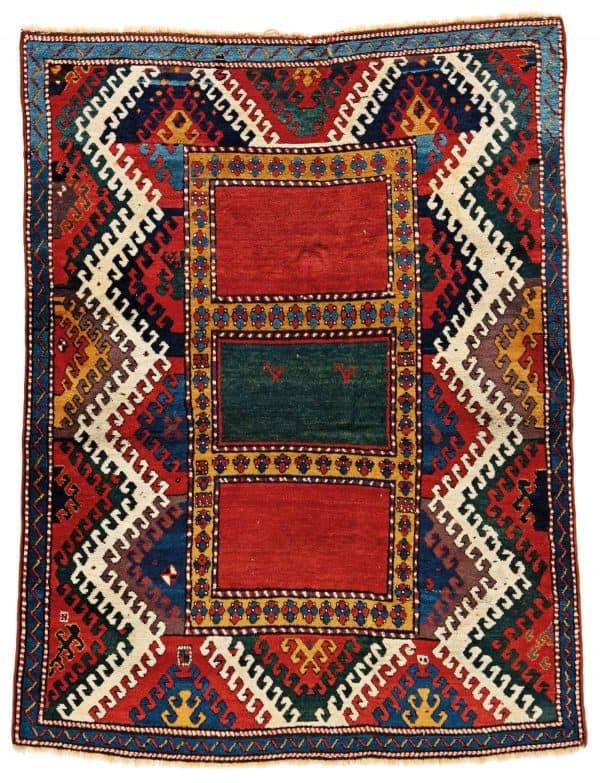Lot 53. Bordjalou Kazak . Austria Auction Company Fine Antique Oriental Rugs XX 30 May 2020