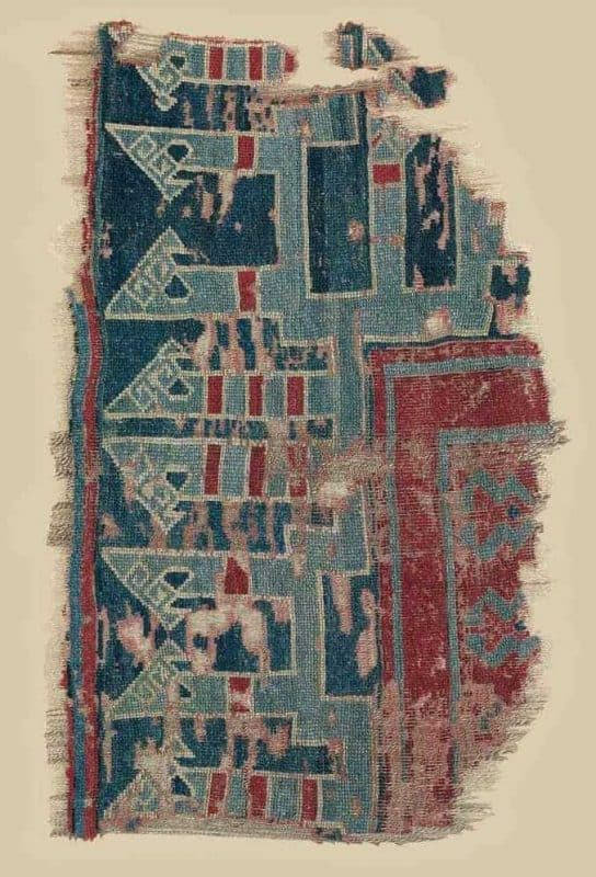 A SELJUK CARPET FRAGMENT KONYA, CENTRAL ANATOLIA, 13TH CENTURY