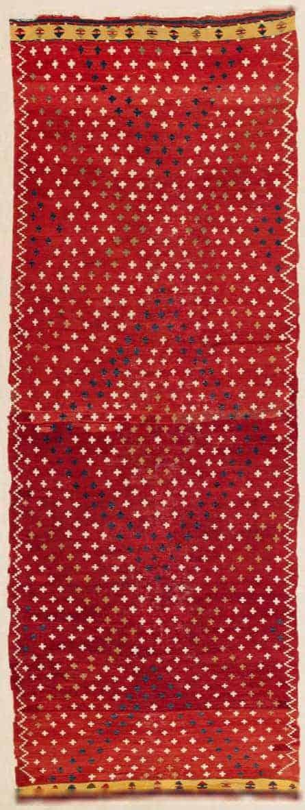 Korkuteli Kilim, South Anatolia ca. 1880. Lot 190 Rippon Boswell auction 25 March 2017
