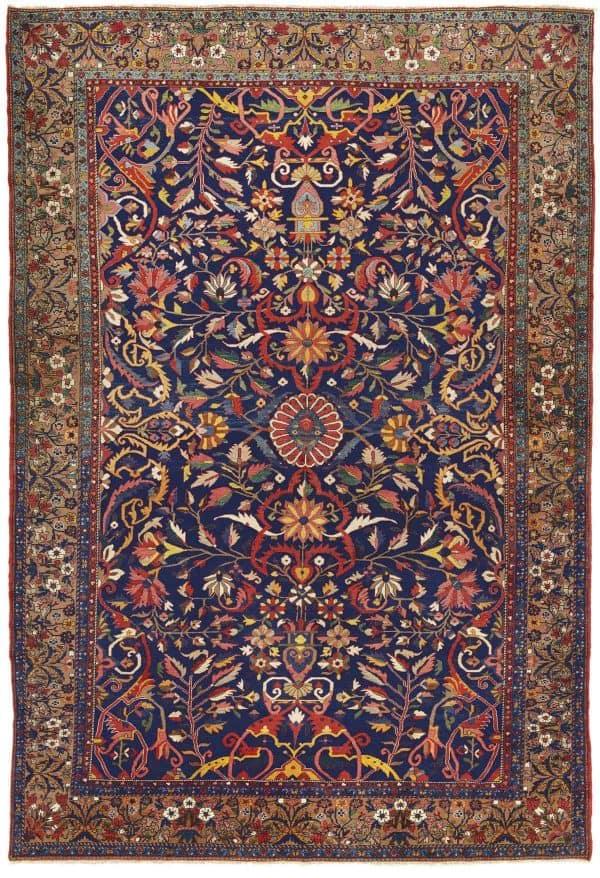 LOT 226. A BAKHTIARI CARPET. WEST PERSIA CIRCA 1900. Estimate GBP 8000 – GBP 12000 600x878 - Islamic art and oriental rugs at Christies 9 June 2020 in London