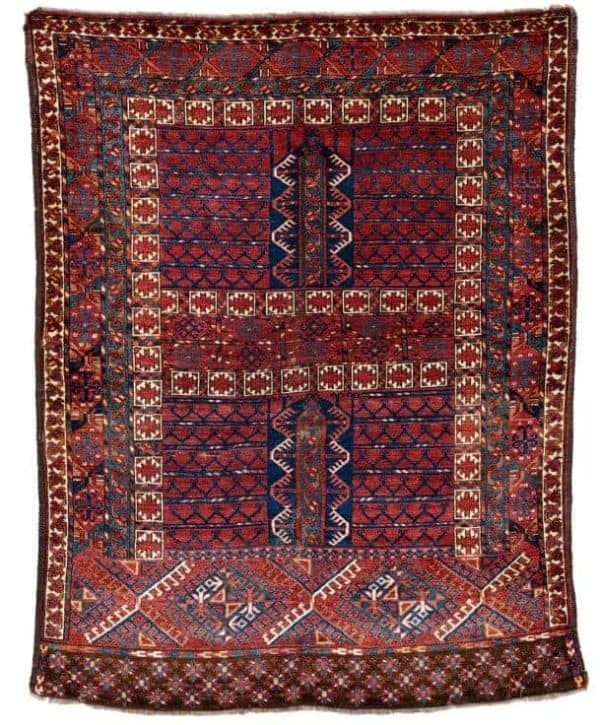 Lot 115 Kizil Ayak ensi 600x725 - Rippon Boswell Major Spring Auction with collectable rugs