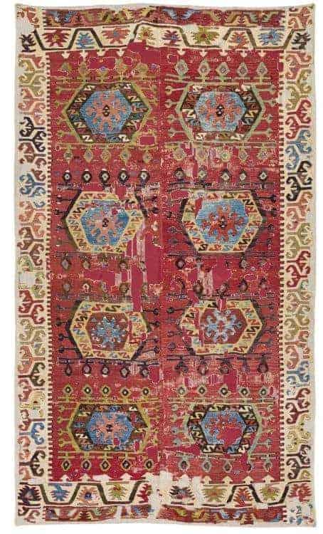 Aksaray Kilim ca. 1800. (Rippon Boswell 27 June 2020.)