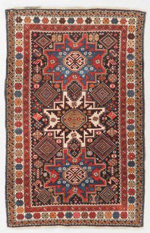Lot 248. Shirvan Rug, Caucasus, Circa 1900 3'9'' X 5'10'' Est. $1,000-$1,500
