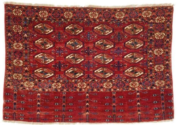 Lot 52 Tekke chuval 600x424 - Rippon Boswell Major Spring Auction with collectable rugs