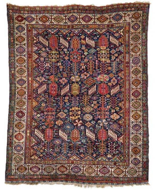 Lot 56 Qashqai 600x737 - Rippon Boswell Major Spring Auction with collectable rugs