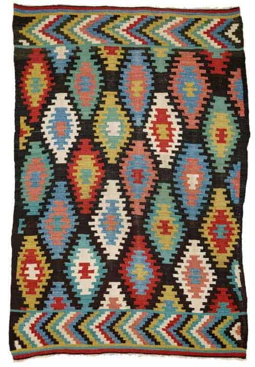 Macedonian Kilim first half 19th century. South East Europe. Lot 164 Rippon Boswell 25 May 2019. - European kilims
