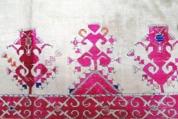 Antique Swat Shawl Textile