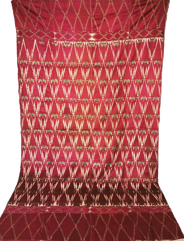 Antique Indian Textile Thirma Bagh Pulkari