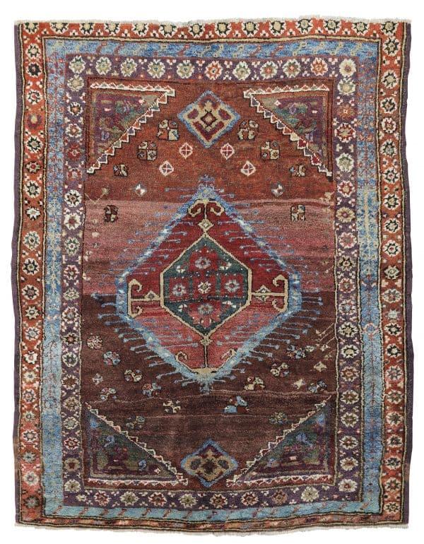 Tribal Karaman rug