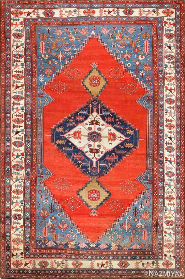 ANTIQUE PERSIAN BAKSHAISH CARPET