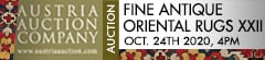 Austria Auction Company: Fine Antique Oriental Rugs XXII 24 October 2020