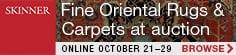 Skinner: Fine Oriental Rugs & Carpets online 21-29 October 2020