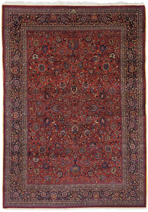 A MESHED AMOGHLI CARPET NORTH EAST PERSIA, CIRCA 1930