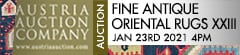 Austria Auction Company: Fine Antique Oriental Rugs XXIII 23 January 2021
