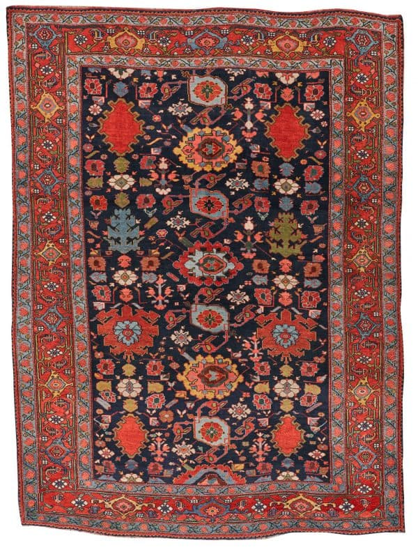 Bidjar Harshang Pattern Rug, Persia, Ca. 1875. 7 ft. 2 in. x 5 ft. 3 in. (Grogan 31 January 2021)