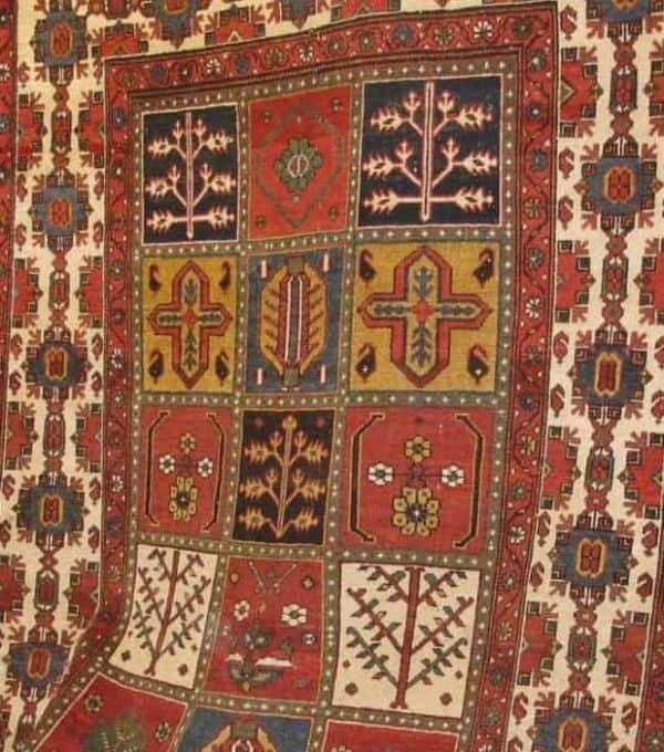 Classical Bakhtiari Garden rug